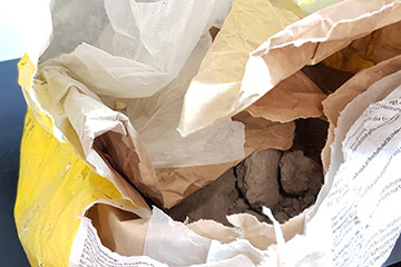 Beton-Estrich im 40kg Sack in Pulverform
