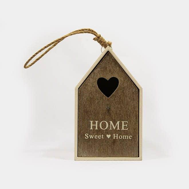 """Deko-Objekt Vogelhaus """"Home sweet Home"""""""