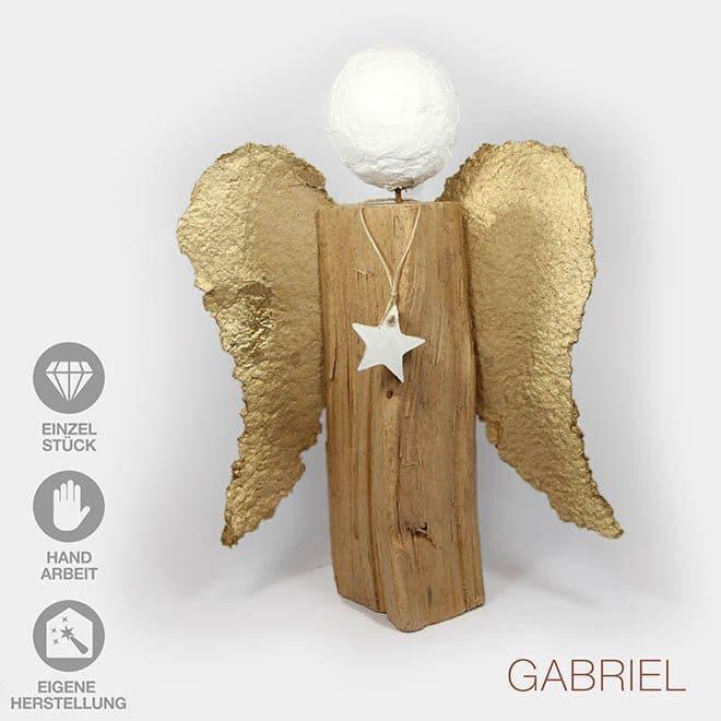 "Skulptur ""Engel GABRIEL"" (Unikat, ca.45cm)"