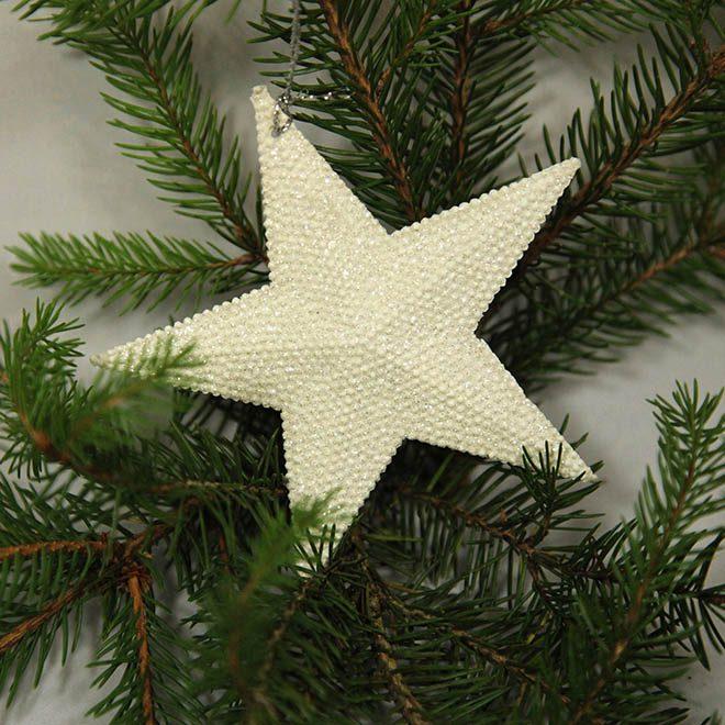 """Weihnachtsbaum-Anhänger """"Stern"""""""