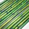 Grüne Bambusstangen zum dekorieren