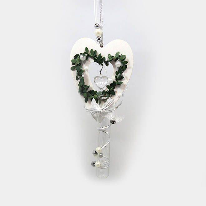 """Hochzeits-Herz """"Perlen"""""""