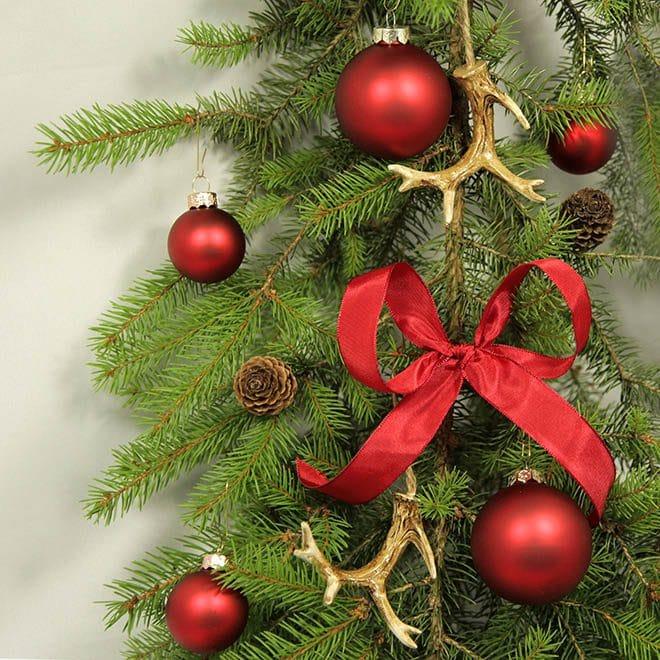 Weihnachtsbaum Rot.Weihnachtsbaum Deko Set Klassisch Rot Dekorundum